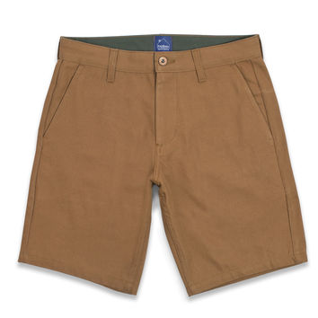 Camel Duck Canvas Camp Shorts