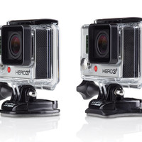 GoPro Curved + Flat Adhesive Mounts | Waterproof mounts for any surface