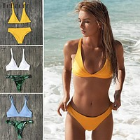 Brazilian Bikini Swimwear Swimsuit Women Push Up Micro Bikinis Set Swimming Suit Bathing Suit Summer Biquini Beachwear