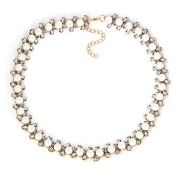 Grace Pearl Statement Necklace