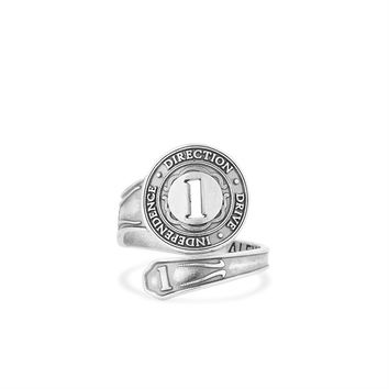 Number 1 Spoon Ring