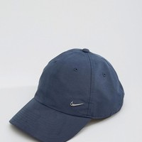 Nike Metal Swoosh Cap In Blue 340225-451 at asos.com
