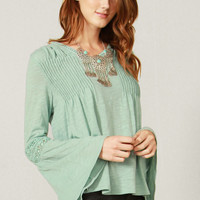 Dusty Mint Blouse