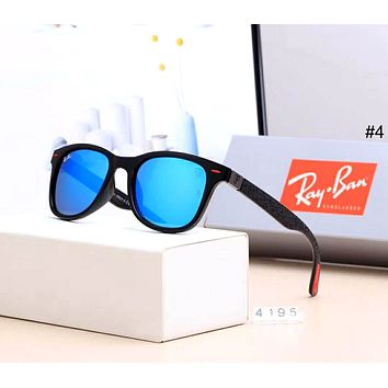 Ray-Ban 2019 new men and women drivers driving large frame polarized sunglasses #4