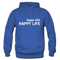 Happy Wife. Happy Life Hoodie
