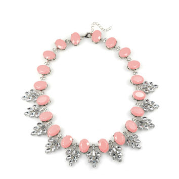 Pink Snow Necklace
