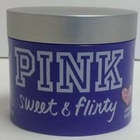 Victoria's Secret PINK Sweet & Flirty Luminous Body Butter Lotion, 10.5 oz NEW DESIGN