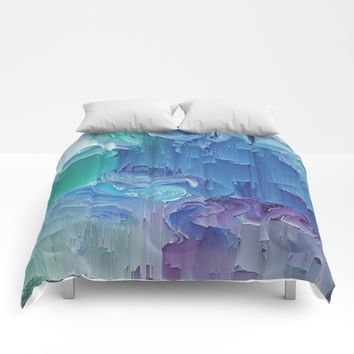 Delicate Deconstruction Comforters by DuckyB