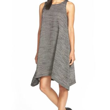 Women's Eileen Fisher Jewel Neck Shift Dress,