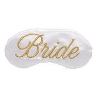 ELEGANT CLASSIC BRIDE SLEEP MASK