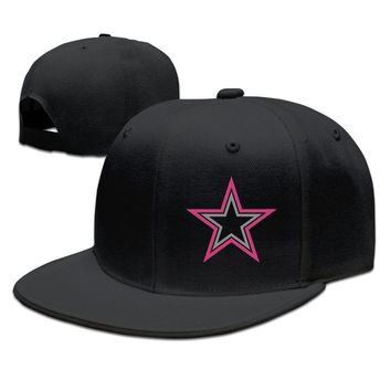 Dallas Cowboys Breast Cancer Awareness Team Travel Performance Printing Unisex Adult Womens Hip-hop Hat Mens Baseball Cap