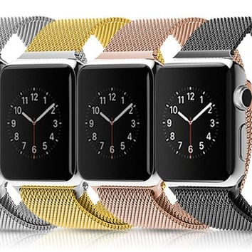 Waloo Milanese Loop Stainless Steel Apple Watch Band