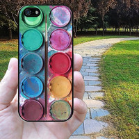 iphone 5c case,iphone 5 case,iphone 5s case,iphone 5s cases,iphone 5 cases,iphone 5c case,cute iphone 5s case--water color paint,in plastic