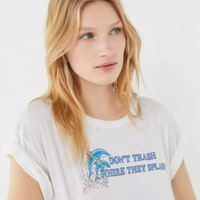 Future State Dolphin Short Sleeve Tee | Urban Outfitters