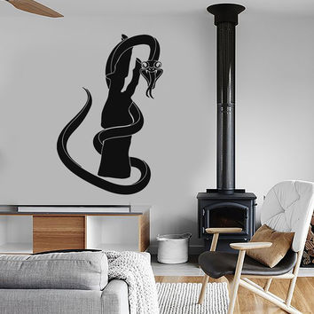 Wall Stickers Vinyl Decal Snake Animals Reptiles Decor Murals Unique Gift (ig157)