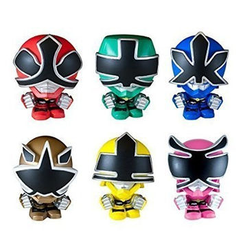Power Rangers Toy Samurai Mashems Mystery Pack of 6