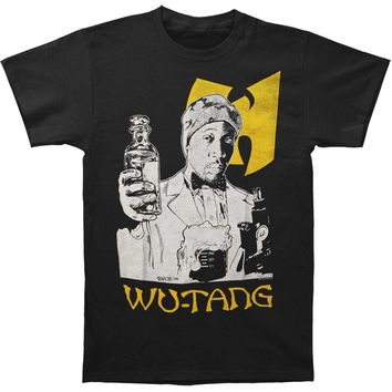 Wu Tang Clan Men's  RZA The Chemist Mens Soft T Slim Fit T-shirt Black