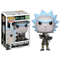 Weaponized Rick Funko Pop! Animation Rick and Morty
