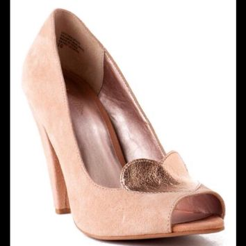 Rare brand new with box peep toe pump