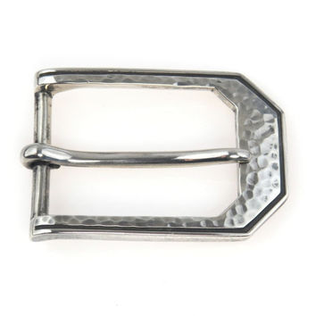 William B Kerr Sterling Silver Belt Buckle