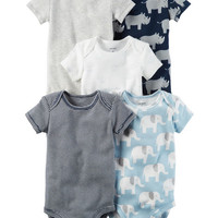 5-Pack Short-Sleeve Original Bodysuits