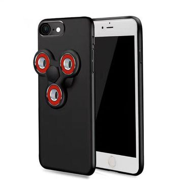 matte slim rotatable finger hand fidget spinner phone case for iphone 6 6s 7 plus luxury 2 in 1 spinner coque cover  number 1