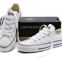 Fashion Online Converse All-match Fashion Casual Male Female Classic Style Cloth Shoes Plate Shoes