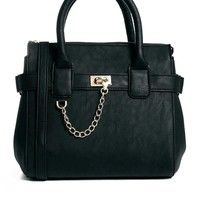 ASOS Bag with Chain Loop Detail