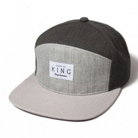 King - Krest 6 Panel Strapback Hat » West Of Camden