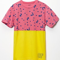 ODD FUTURE Frosting T-Shirt - Mens Tee - Pink