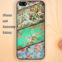 wooden plants Retro colorful iphone 6 6 plus iPhone 5 5S 5C case Samsung S3, S4,S5 case, Ipod touch Silicone Rubber Case, Phone cover