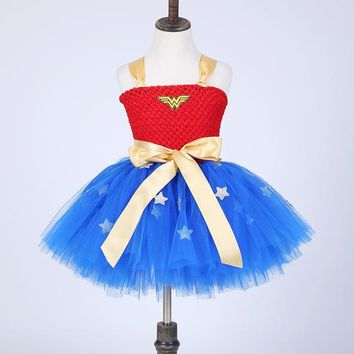 Wonder Woman  Costume Birthday Dresses