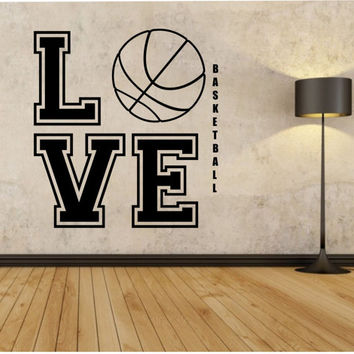 Shop basketball wall murals on wanelo for Basketball mural wallpaper