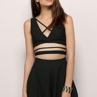 Ailani Criss Cross Crop Top