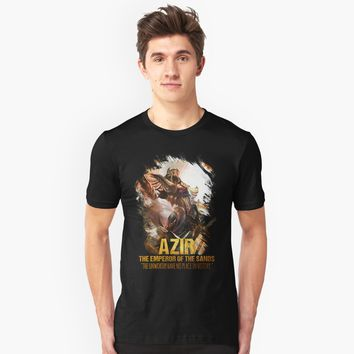 """League of Legends AZIR - [The Emperor Of The Sand]"" Unisex T-Shirt by Naumovski 