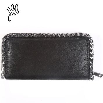 Leather Chain Wallet