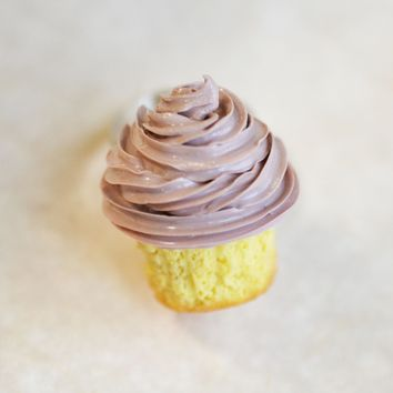 Chocolate Cupcake Polymer Clay Adjustable  Ring