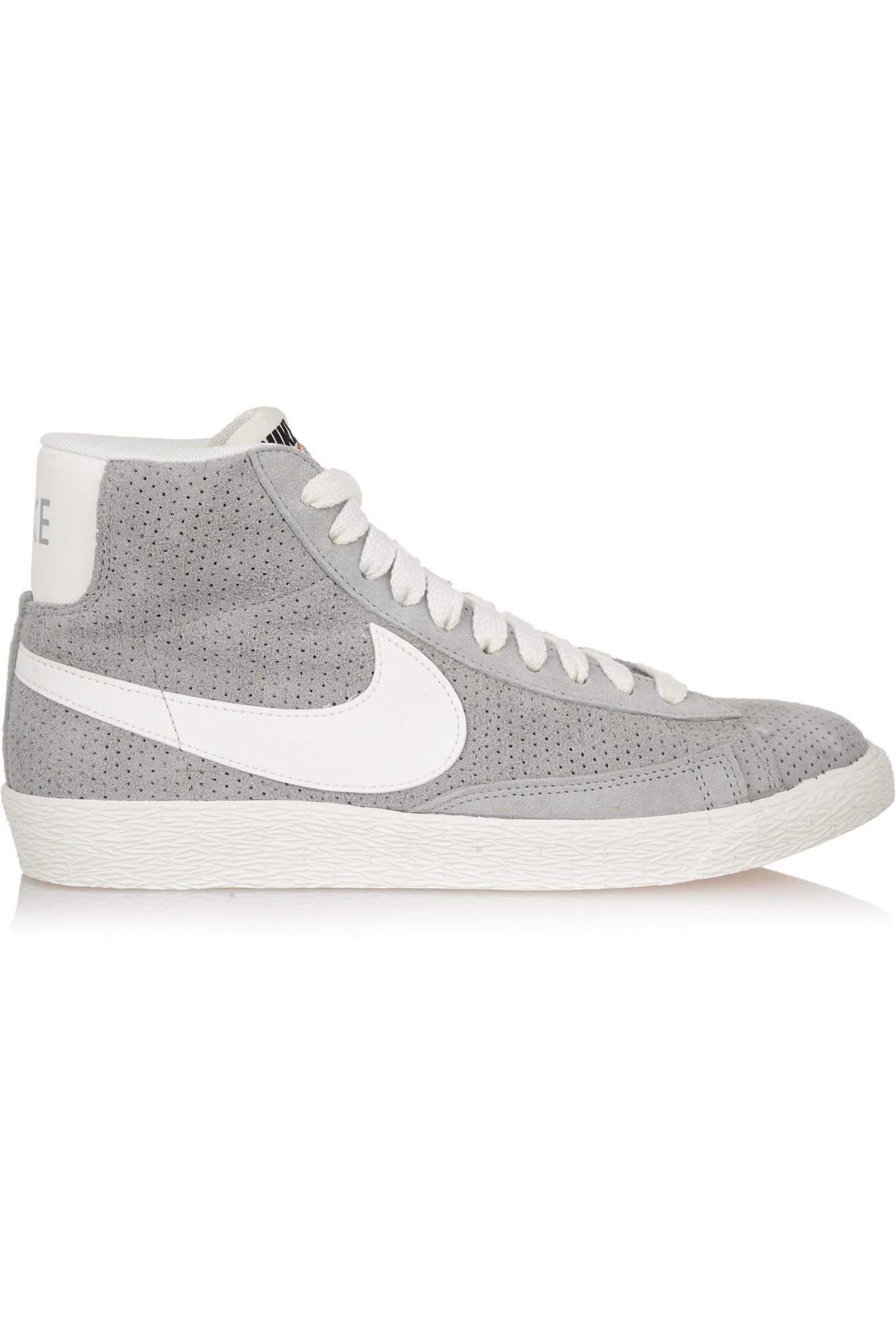 e25e5d7c680107 Nike - Blazer perforated suede high-top from NET-A-PORTER