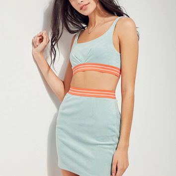 Ecote Rising Tide Cropped Top Two-Piece Set | Urban Outfitters