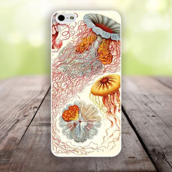 iphone 6 cover,Hand painted jellyfish iphone 6 plus,Feather IPhone 4,4s case,color IPhone 5s,vivid IPhone 5c,IPhone 5 case Waterproof 739