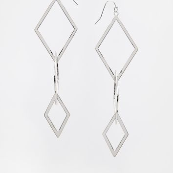 ASOS Diamond Link Earrings