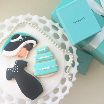 Breakfast at Tiffanys Cookies