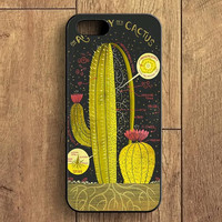 Anatomy Of A Cactus iPhone 5 Case