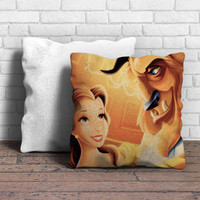 Beauty And Beast Pillow | Aneend