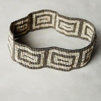 Chatha Beaded Belt by Anthropologie in Brown Size: All Belts