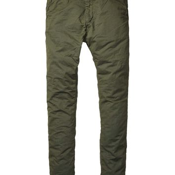 Basic Pima Cotton Twill Chino - Scotch & Soda