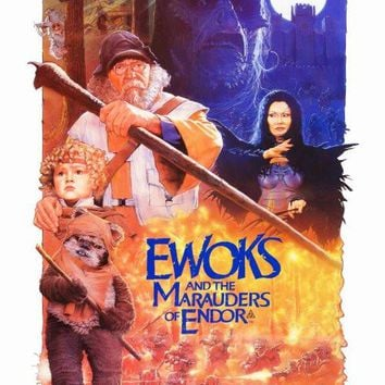 Ewoks: The Battle for Endor 27x40 Movie Poster (1985)