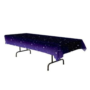 Starry Night Tablecover Party Accessory (1 count) (1/Pkg)