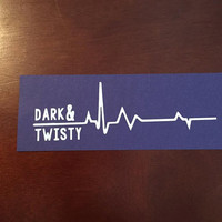 Grey's Anatomy Dark & Twisty Decal