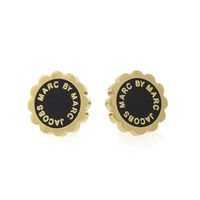 ENAMEL SCALLOPED DISC-O STUDS